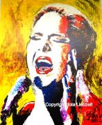 Adele, glicee print1of1 canvas wrap, 16x20 - available - smaller